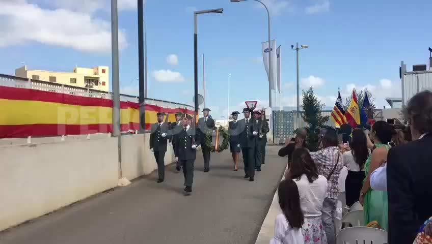 La Guardia Civil de Ibiza honra a su patrona