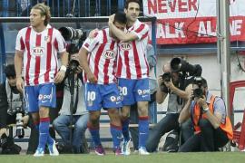 Un triunfo muy cómodo y tres golazos devuelven al Atlético a zona europea