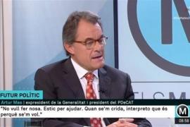 Artur Mas advierte de que ni la CUP ni la ANC presiden el Govern de la Generalitat