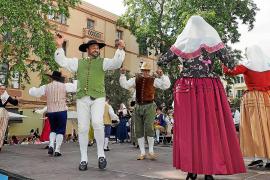 Tradición en la Mostra Folklòrica Ciutat d'Eivissa
