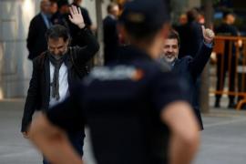 Los presidentes de la ANC y Òmnium convivirán en prisión con Ignacio González, Jordi Pujol Jr o Sandro Rosell
