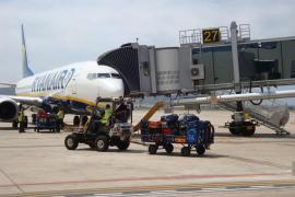 El aeropuerto de Ibiza registra 1,4 millones de pasajeros en vuelos 'low cost' hasta septiembre