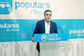 El PP denuncia que Ibiza ha perdido 11 millones y tacha de «sumiso» a Torres