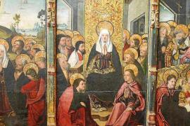 Imagen de archivo del retablo de Jesús, considerada como la obra de arte sacro más importante de las Pitiusas.