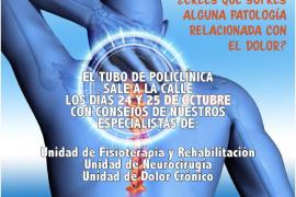 La Policlínica del Rosario organiza las IV Jornadas de Dolor Crónico de Ibiza
