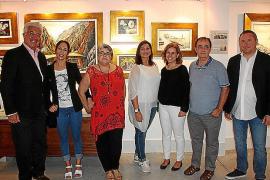 Cati Aguiló expone su obra en la Fira de Llucmajor