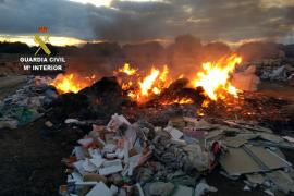 El Seprona denuncia a una empresa constructora por irregularidades en la gestión de residuos en Menorca