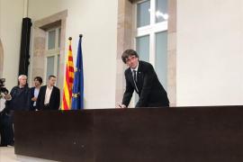 La Fiscalía presentará una querella por rebelión contra Puigdemont si declara la independencia