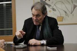 """Artur Mas ve """"ilegal e inmoral"""" aplicar el artículo 155 a Cataluña"""