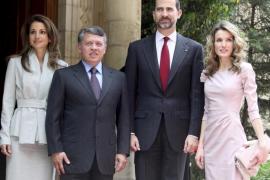 El príncipe de Asturias apoya las reformas alentadas por Abdalá II
