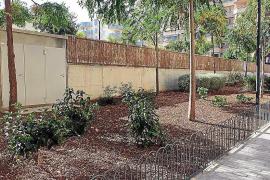 Dibujos y zonas verdes en Sa Bodega para concienciar sobre una ciudad más limpia