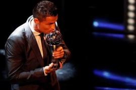Cristiano Ronaldo repite con el 'The Best'