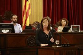 """Armengol: """"Las instituciones ya no están para reñir sino para escuchar a los ciudadanos"""""""