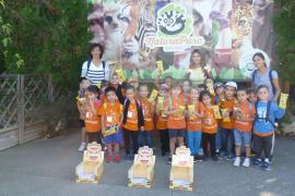 Alumnes d'Infantil del Ceip Mitjà de Mar de Porto Cristo varen visitar Natura Parc