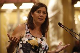 Armengol censura a Company su pasado con Bauzá y el líder del PP le acusa de «sectaria»