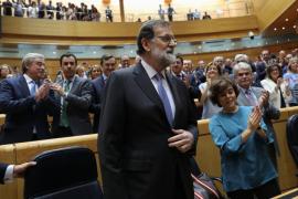 """Rajoy afirma que """"no hay alternativa"""" que aplicar el artículo 155"""