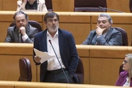 Antich no participa junto con Montilla en la votación en el Senado del 155