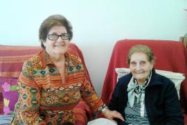 Antonia Guasch, 101 años de historia viva y payesa de Sant Miquel