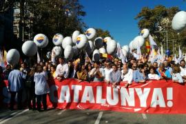 Multitudinaria manifestación en defensa de la unidad de España