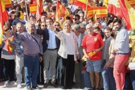 """Cifuentes: """"Cataluña quiere seguir siendo España"""""""
