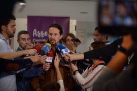 """Pablo Iglesias dice que Fachin y los anticapitalistas están """"políticamente fuera de Podemos"""""""