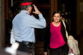 """Forcadell defiende el pacifismo de las instituciones catalanas ante la """"querella política"""""""