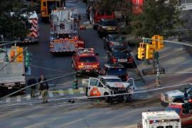 Al menos seis muertos y quince heridos en Nueva York tras un atropello intencionado en Manhattan