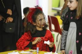 Fiesta de Halloween en el colegio Can Misses de Ibiza