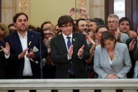 Los miembros del Govern y de la Mesa del Parlament, citados por el Supremo