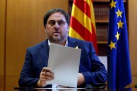 """Junqueras confía en que """"tarde o temprano"""" se consolidará la República catalana"""