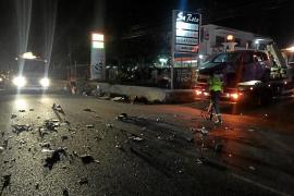 Un muerto y una herida crítica en una colisión entre un coche y una moto