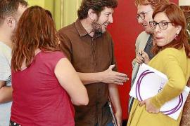 La mayoría del grupo de Podemos quiere a Camargo de portavoz