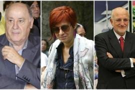 Amancio Ortega, su hija Sandra y Juan Roig, las tres mayores fortunas de España, según Forbes
