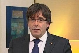 Puigdemont asegura que no rehúye de la justicia y que está dispuesto a ser candidato en las elecciones del 21-D