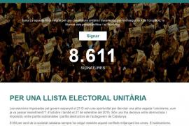 Puigdemont difunde un enlace para apoyar una lista unitaria y contra los encarcelamientos