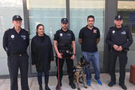 Vila cuenta con una nueva unidad canina para la detección de estupefacientes