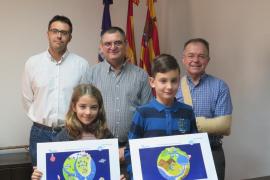 Toni Ribas y Laia Torres, finalistas del Concurso Digital Infantil de Aqualia