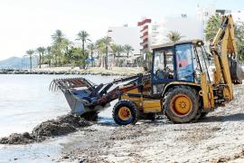 Más de nueve toneladas de arena regresan a las playas de Vila