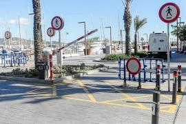 El acceso al puerto viejo sigue cerrado
