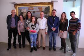 Claudia Ortega, de Sant Antoni, gana el premio del concurso internacional 'Misión depuración' de Aqualia