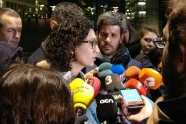 "Rovira, tras reunirse con Puigdemont, afirma que PDeCAT y ERC harán ""frente común"" para el 21D"