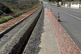 Vila inicia las obras de ampliación del carril bicil de la avenida Sant Jordi