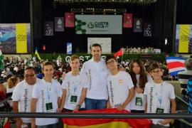 Los ibicencos se muestran orgullosos del trabajo realizado en la final mundial de robótica