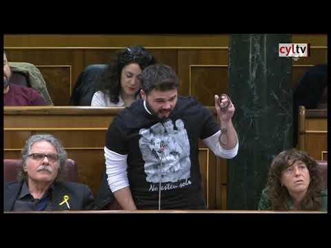 Gabriel Rufián a Zoido: «Ustedes nos molieron a palos, nosotros les moleremos a votos»