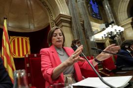 Forcadell anuncia ahora que sí será candidata de ERC en las elecciones del 21-D