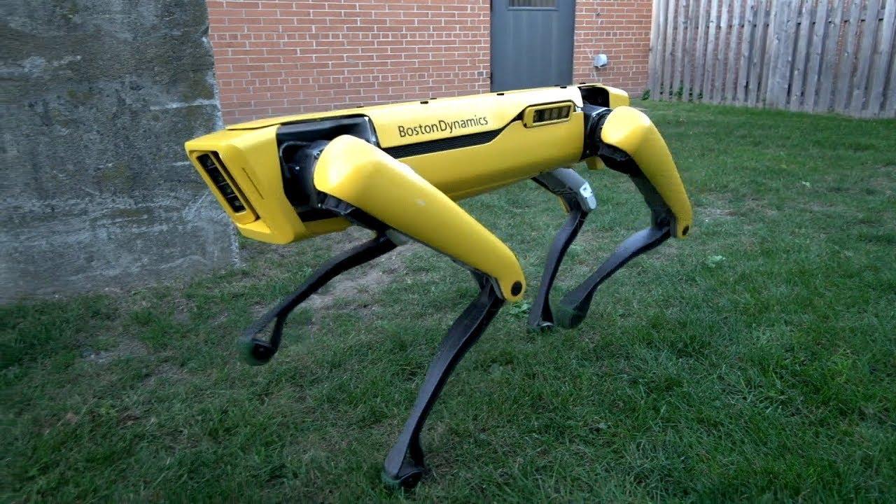 Una empresa presenta una nueva versión del 'perro robot'