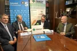 PIMEEF y Banc Sabadell renuevan su convenio de colaboración