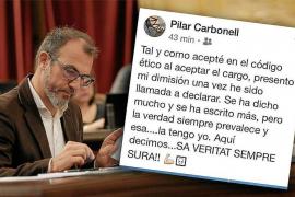 Biel Barceló elogia el trabajo de Carbonell y defiende su inocencia