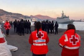 Casi medio millar de inmigrantes llegan a Murcia en 44 pateras