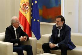 Rajoy reitera a Ledezma su compromiso con la democracia en Venezuela